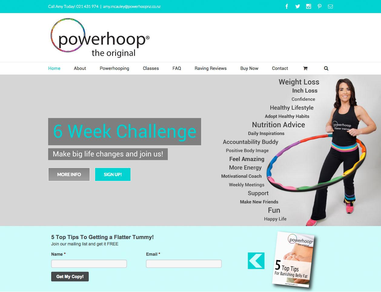 Website Design - Powerhoop NZ