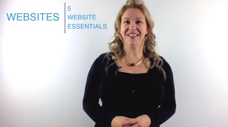 5 Website Essentials [Part 1]