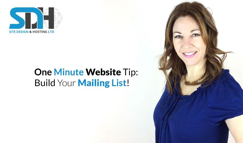 #3 – One Minute Website Tip