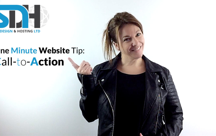 One Minute Website Tip - Call to Action